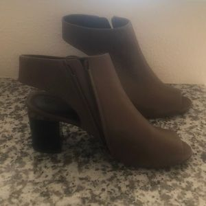 Open Toe and heel out booties